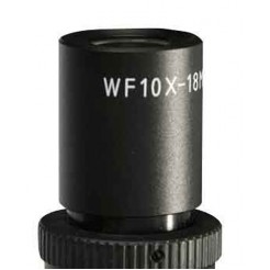 Byomic Oculair + Kruis Schaal WF10 x 18 mm voor BYO10-503T